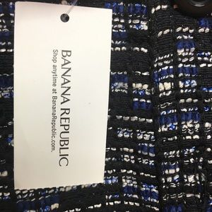 Banana Republic Skirts - BANANA REPUBLIC blue woven button mini skirt SZ 6
